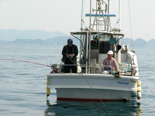 シマゲ灯台沖